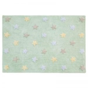 Dywan do prania w pralce tricolor star soft/mint, lorena canals 120 x 160 cm