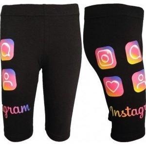 Czarne getry 3/4 instagram