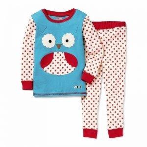 Piżama zoo sowa 5t