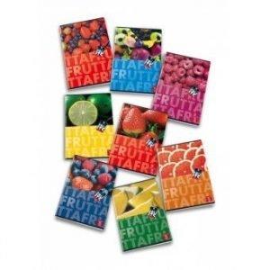 Zeszyt a5 42 kartki kratka, pigna fruits