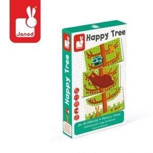 Gra pamięciowa szczęśliwe drzewo, janod