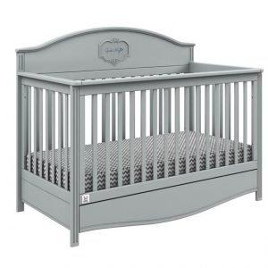 Bellamy łóżeczko good night grey 140×70 cm