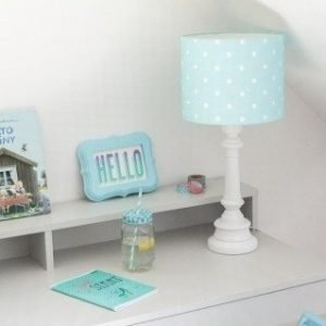 Lampa stojąca – lovely dots mint
