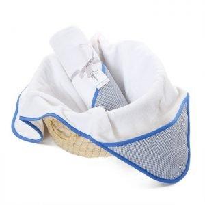Colorstories – ręcznik bawełniany z kapturem 90×90 cm navy blue (m)