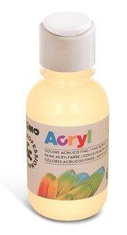 Farba akrylowa w butelkach 125 ml.