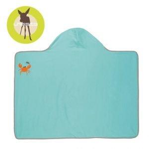 Ręcznik kąpielowy z kapturem 0-24 mies. 100×70 cm, uv 50+, star fish lassig