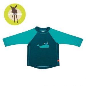 Koszulka do pływania z długim rękawem blue whale, uv 50+