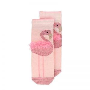 Skarpetki dziecięce flamingi, 3- 5 lat, meri meri