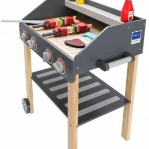 Drewniany grill – mistrz bbq