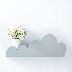 Półka chmurka – szara