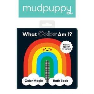 Mudpuppy magiczna książeczka do kąpieli jaki mam kolor?