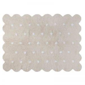 Dywan bawełniany do prania w pralce galleta crema/beige, lorena canals 120 x 160 cm