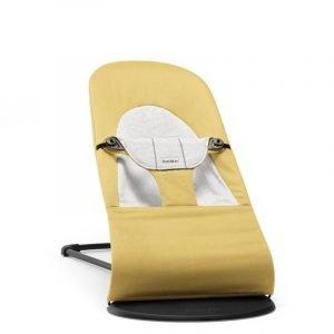 Babybjorn – leżaczek balance soft cotton/jersey – żółty/szary