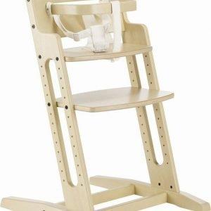 Krzesło do karmienia danchair – bielone/white-wash, baby dan