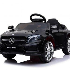 Mercedes gla45 amg czarny samochód na akumulator dla dziecka