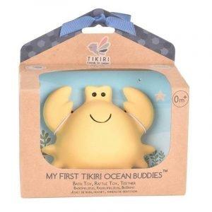 Gryzak zabawka krab ocean w pudełku, 0+, tikiri