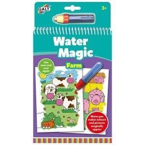 Magiczna kolorowanka wodna – gospodarstwo rolne